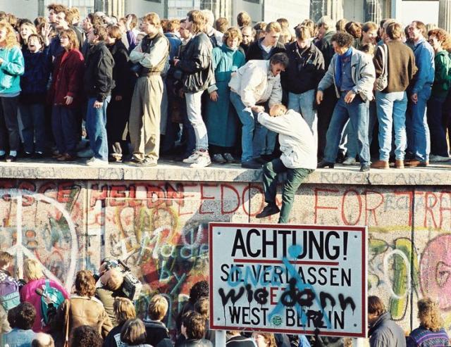 Obeležavanje pada Berlinskog zida Foto: privatna arhiva