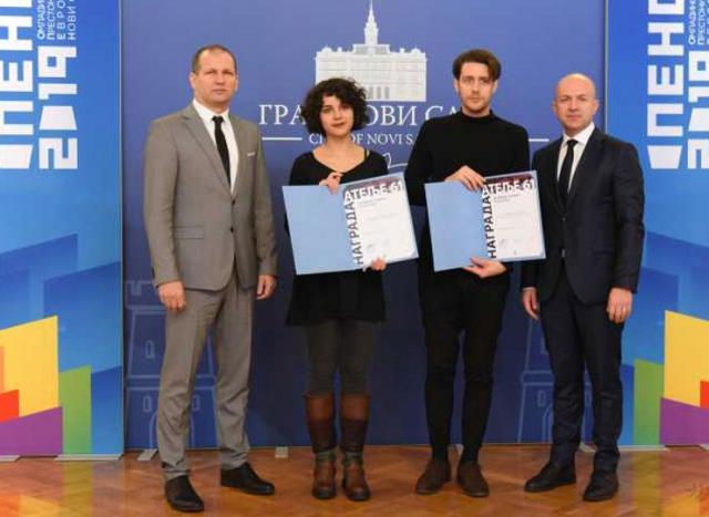 Uručene nagrade sa međunarodnog konkursa ''Ateljea 61'' Foto: novisad.rs