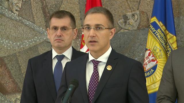 Ministar unutrašnjih poslova Srbije Nebojša Stefanović Foto: Tanjug/video