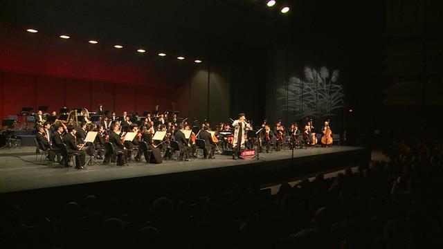 """u Centru """"Sava"""" održan Kineski novogodišnji koncert 2020 Kineske filharmonije Foto: Tanjug/video"""