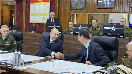 Putin i Asad Foto: Syrian Presidency via AP