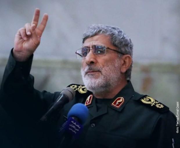General Esmail Gani Foto: Twitter/ Esmail Gani