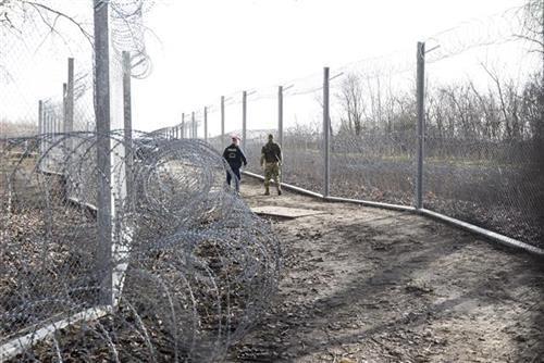 granica madjarska srbija, tanjug ap