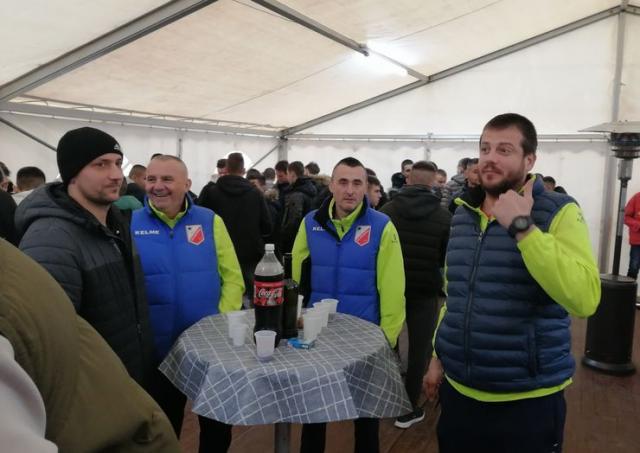 Predstavnici Vojvodine su uveličali slavlje Proletera Foto: FK Proleter