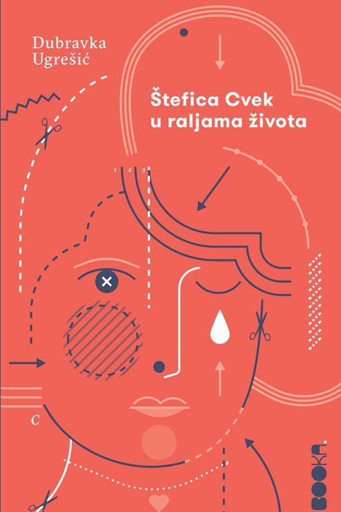 """Naslovnica romana """"Štefica Cvek u raljama života"""", Dubravke Ugrečić,Booka, Beograd 2020. Foto: Dnevnik.rs"""