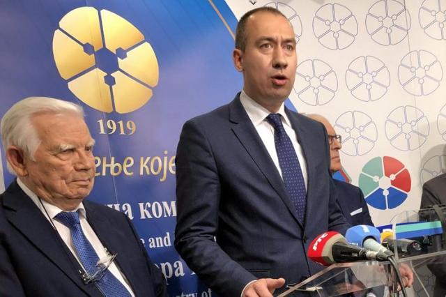 Radojević na konferenciji o podsticajima za zadruge u 2020. godini održanoj u PKV Foto: Pokrajinska vlada