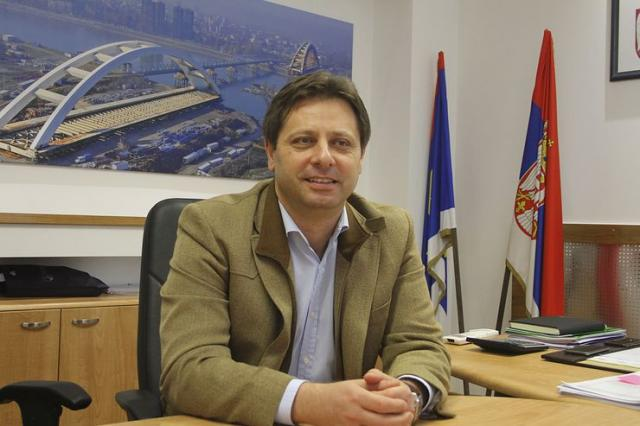 Direktor Uprave za kapitalna ulaganja Nedeljko Kovačević Foto: Dnevnik.rs