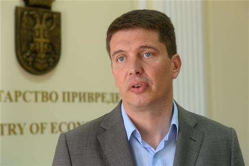 Državni sekretar u Ministarstvu privrede Dragan Stevanović Foto Tanjug/D.Goll