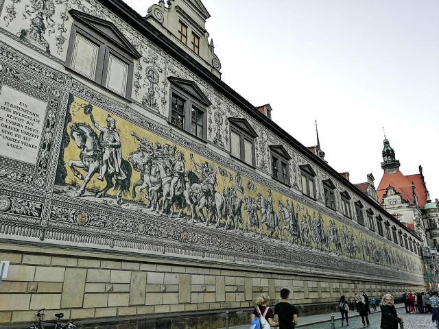 Mozaik vladara Saksonije