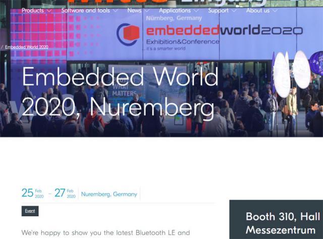 """Sajam"""" Embedded World"""" Foto:sajt/promo/printskrin"""