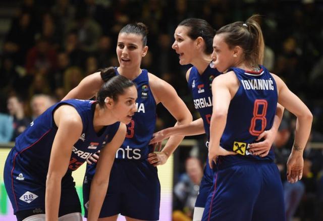 Košarkašice Srbije bore se za olimpijsku vizu Foto: RAS Srbija
