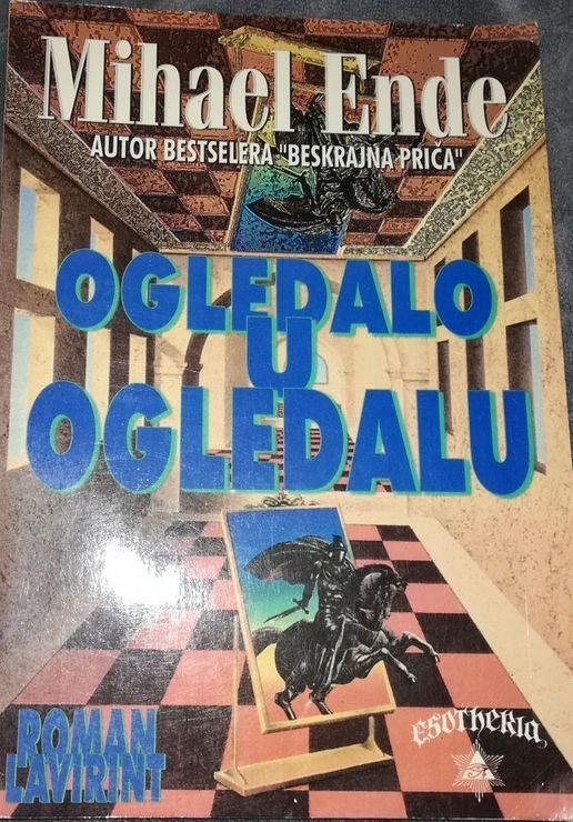 "Naslovnica romana ""Ogledalo u ogledalu"" Mihaela Endea Foto: Dnevnik.rs"