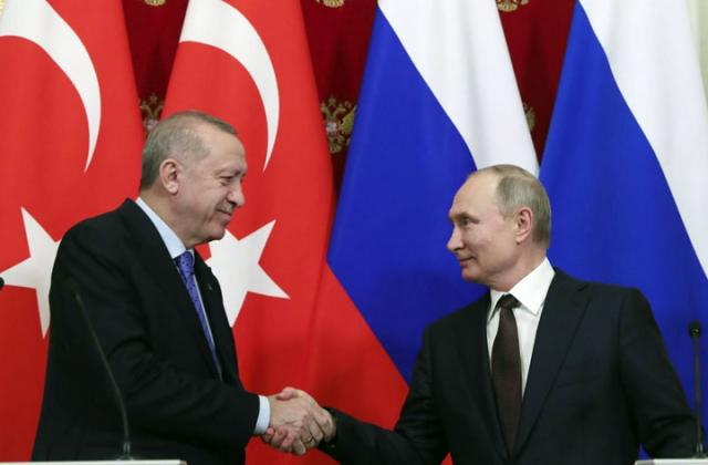 Фонет/АП/Путин и Ердоган