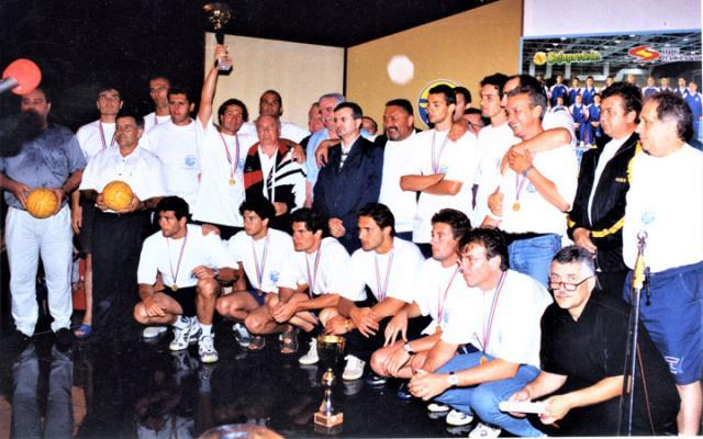 Властимир Јанков/Са свечаног дочека европских вицешампиона 1999. године на Погачи