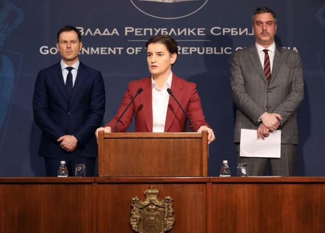 ФоНет/Кабинет премијера/Слободан Миљевић/Ана Брнабић