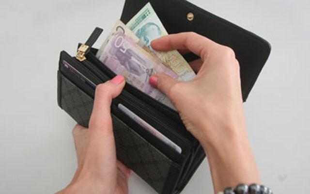 novac plata