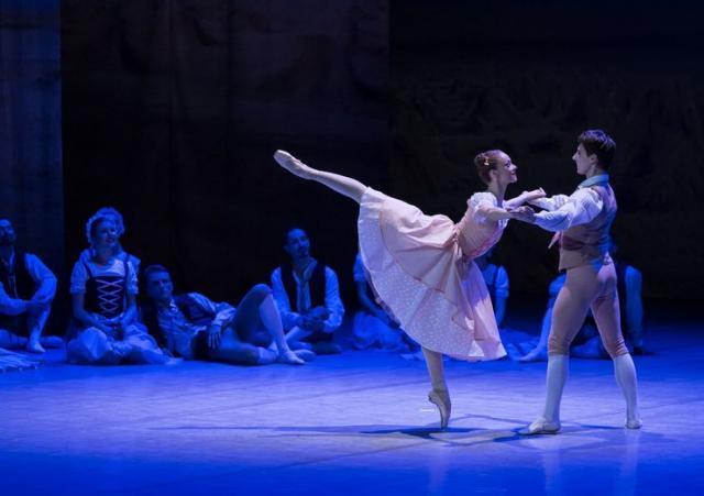 "Iz baleta ""Vragolanka"" Foto: Aleksandar Ramadanovic"