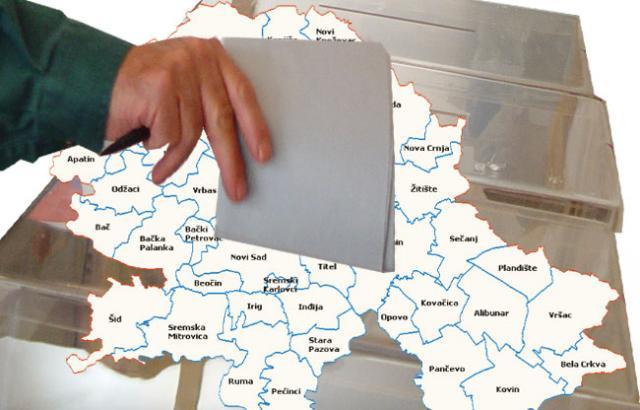 Vojvođanski gradovi i opštine uoči izbora Foto: Dnevnik.rs