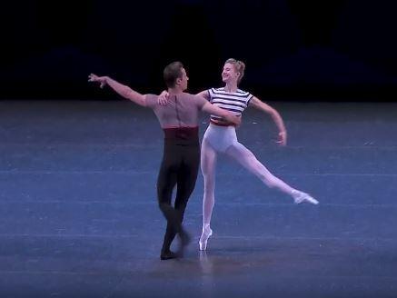 Foto Njujork siti balet, printskrin