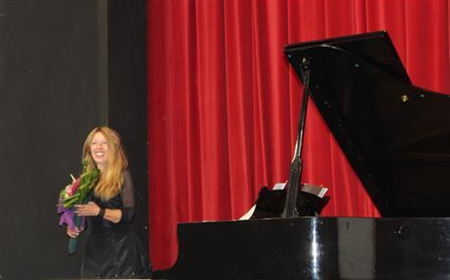 Pijanistkinja Nada Kolundžija Foto: Tanjug/video