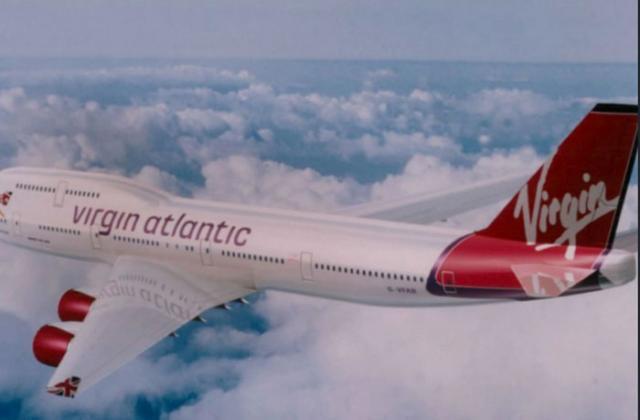 "Avion kompanije ""Virdžin Atlantik"" Foto: Virdžin Atlantik"