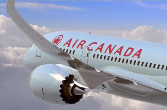 Avion kompanije Er Kanada  Foto: Er Kanada
