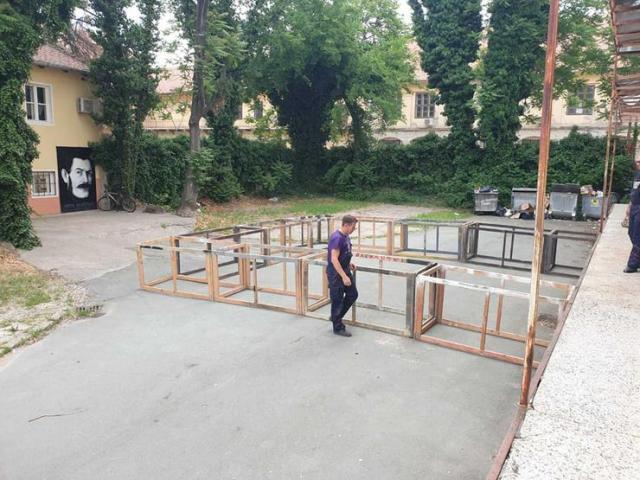Narodno pozorište Sombor postavlja scenu na otvorenom prostoru Foto: privatna arhiva