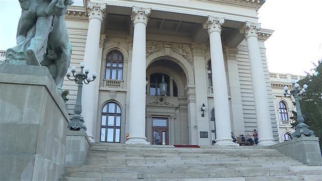 Skupština Srbije, štrajkači gladju Foto: Tanjug: video