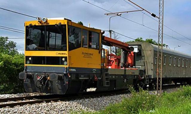 Tehnički voz Infrastruktura železnice Srbije Foto: Infrastruktura železnice Srbije