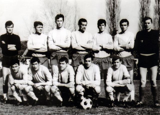 Екипа Бачке из сезоне 1968/69. године