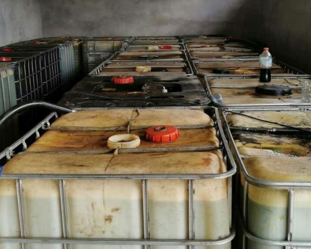 Zaplenjeno 52.400 litara goriva Foto: MUP Srbije