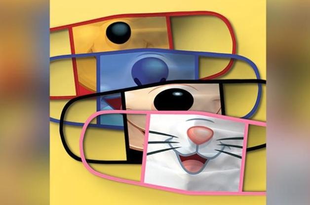 Dizni predstavio novu liniju maski za lice za decu Foto:CNN/printskrin