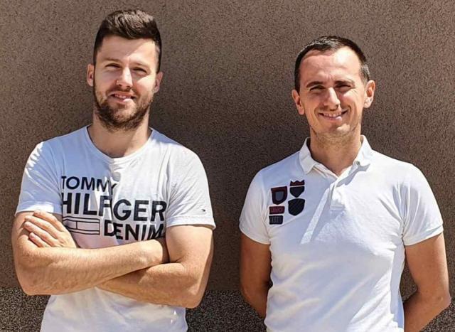 Robert Pastor i Jovan Balaban foto: M. Menićanin
