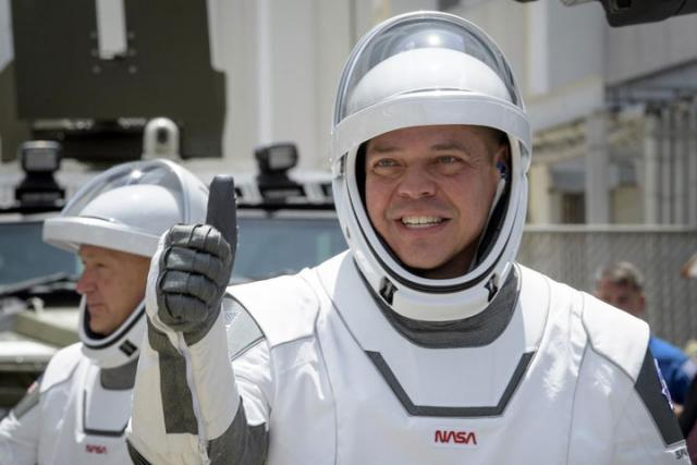 Astronauti Robert Benken, Daglas Harli/Fonet/AP