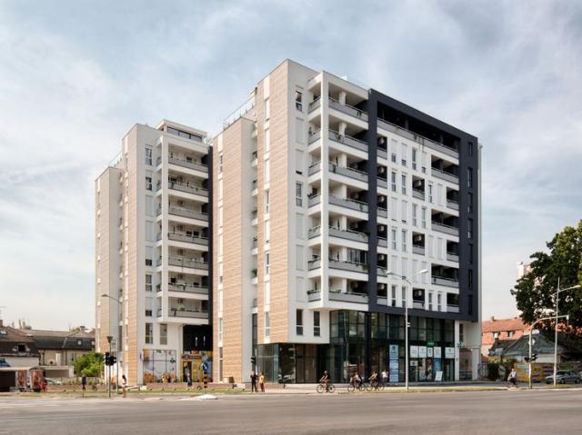 Dve stambene lamele u Ulici cara Dušana Foto: privatna arhiva
