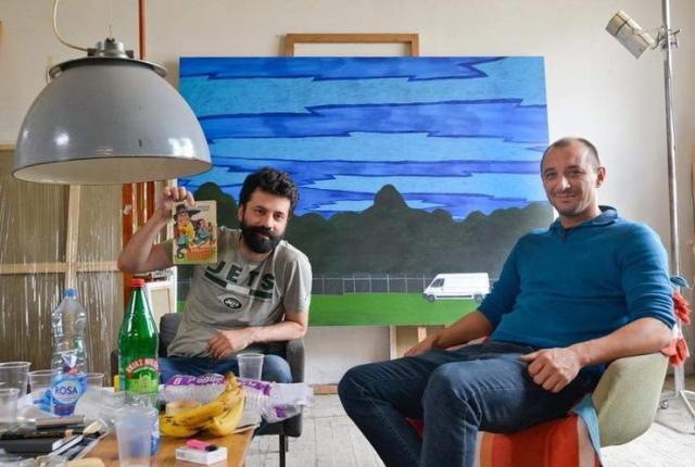 Tadija Janičić i Petar Mirković Foto: P. Uzelac