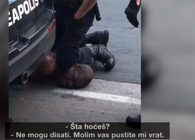 Derik Sovin hapsi Dzordza Flojda/Jutjub
