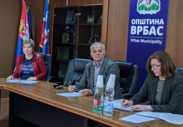 Sednica Saveta za zadravlje opštine Vrbas Foto: Opština Vrbas