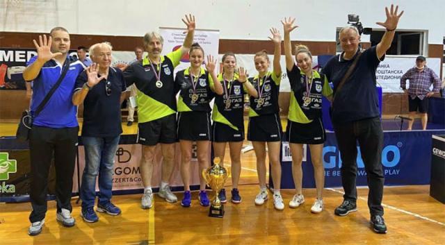 Д. Фрациле/ Новосађанкама пета титула, трећа у низу