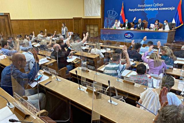 Republička izborna komisija Foto: Tanjug/video