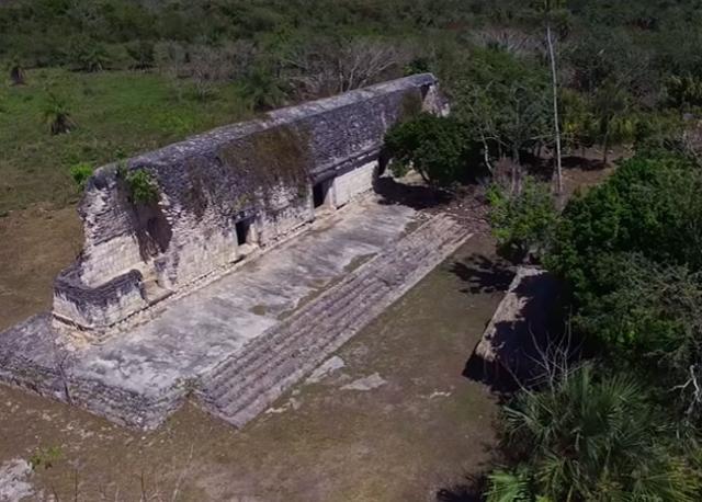 Ostaci građevine drevnih Maja  Foto: Youtube/prinscreen