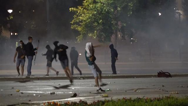 Protesti u Beogradu Foto: Tanjug/video