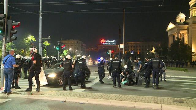 Protest u Beogradu/Tanjug/video