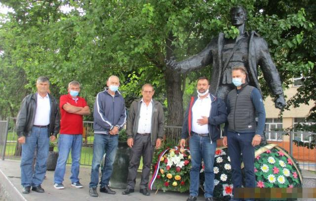Skromno obeležena partizanska slava u Vojki Foto: privatna arhiva