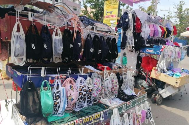 Kupuju se pamučne maske, vitamini, etanol... foto: D. Andulajević
