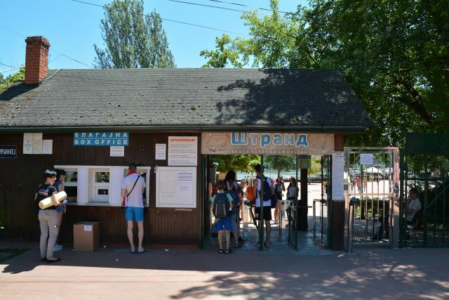Kupališna sezona na Štrandu uveliko je počela Foto: V. Fifa