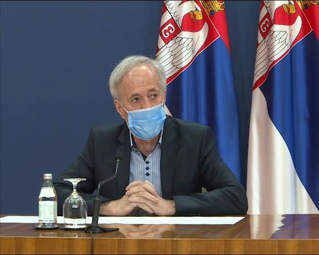 Infektolog Mijomir Pelemiš Foto: Tanjug/video