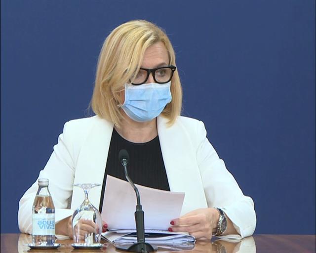 "Direktorka Instituta ""Batut"" Verica Jovanović  Foto: Tanjug/video"