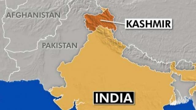 Kašmir,Indija, mapa Foto: Youtube/printscreen