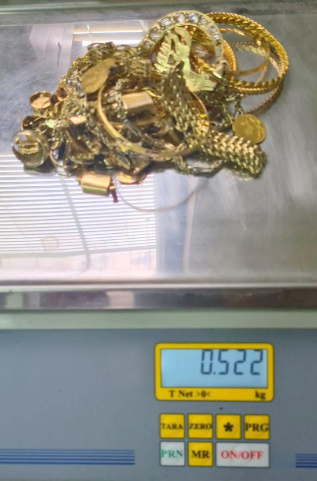 zaplenjeni zlatni nakit Horgos 18 07 2020
